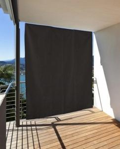 Windschutzvorhang Balkon
