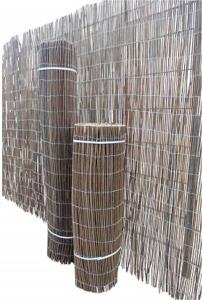 Windschutz aus Bambus
